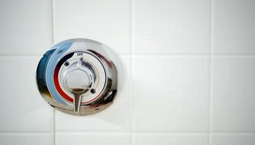 Shower faucet hookup